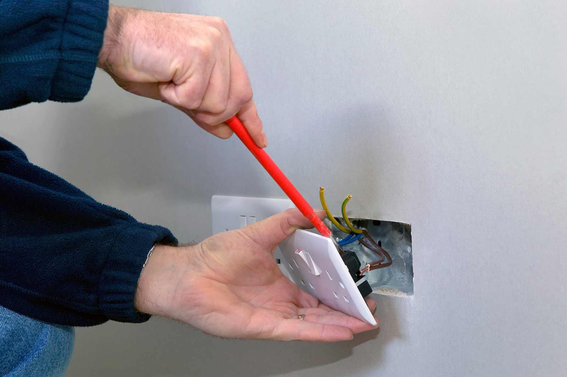Our electricians can install plug sockets for domestic and commercial proeprties in Newbury Park and the local area.